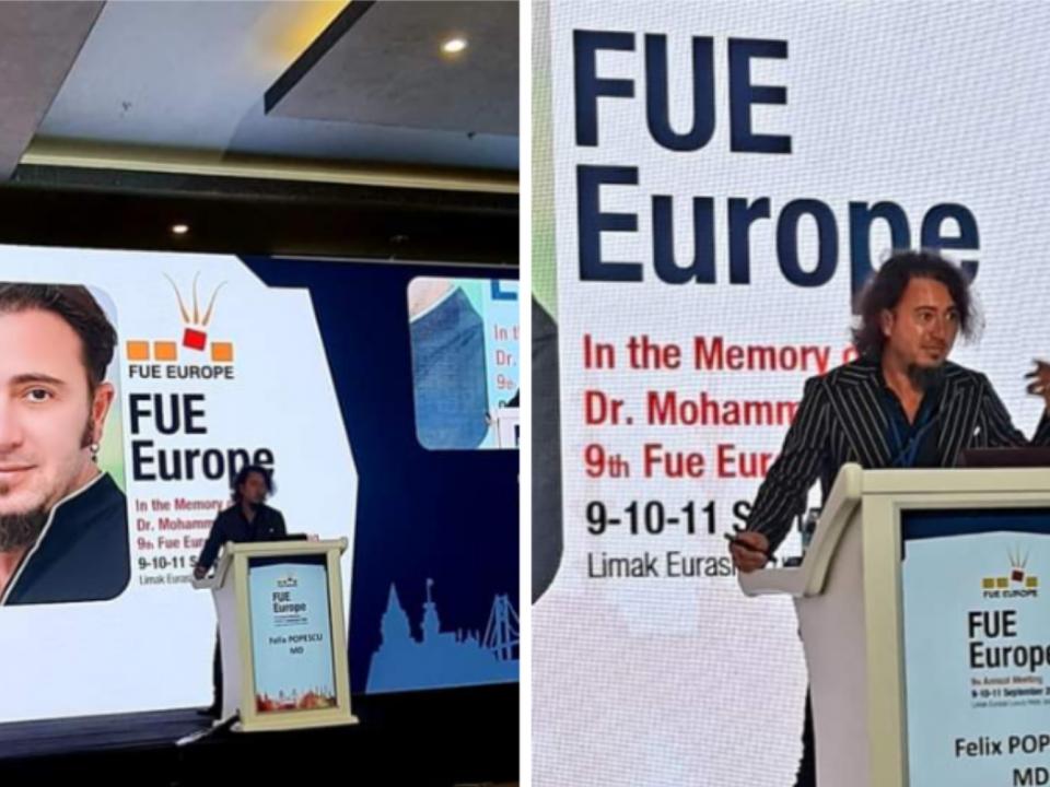 Dr. Felix la FUE Europe 2021